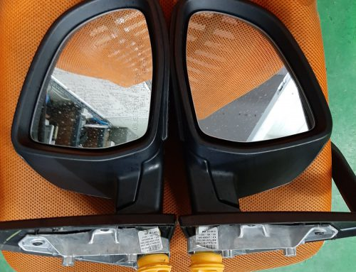 Power folding BMW X3 Side Mirror
